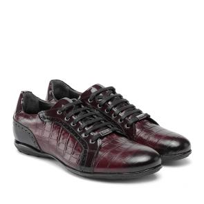Мъжки обувки от естествена кожа и лак GRI-1720-16 - 2