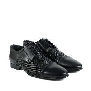 Мъжки официални обувки от естествена кожа GRI-A-1600-36 - 2