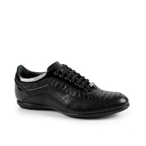 Мъжки обувки от естествена кожа и лак GRI-1720-17