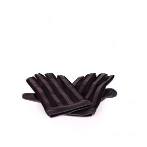 Мъжки ръкавици от естествена кожа и велур  - 2