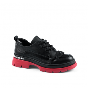 Дамски спортни обувки от естествена кожа ILV-001