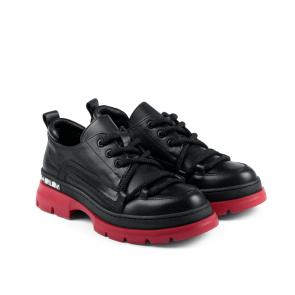 Дамски спортни обувки от естествена кожа ILV-001 - 2