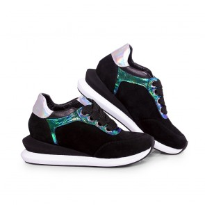 Дамски спортни обувки от естествен велур ILV-0010 - 2