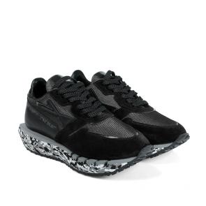 Дамски спортни обувки от естествен велур и лак ILV-005 - 2