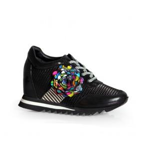 Дамски спортни обувки естествена кожа ILV-0543