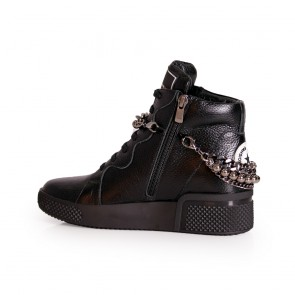 Дамски спортни обувки естествена кожа - 2