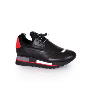 Дамски спортни обувки от естествена кожа ILV-1080