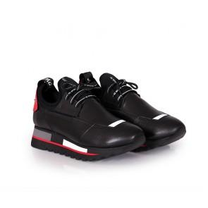 Дамски спортни обувки от естествена кожа ILV-1080 - 2