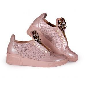 Дамски обувки от естестсвена кожа - 2