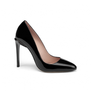 Дамски обувки от естествен лак ILV-125778