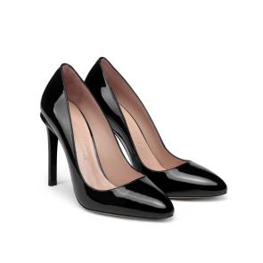 Дамски обувки от естествен лак ILV-125778 - 2