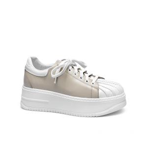 Дамски спортни обувки от естествена кожа ILV-160