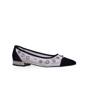 Дамски обувки от естествен велур ILV-5012