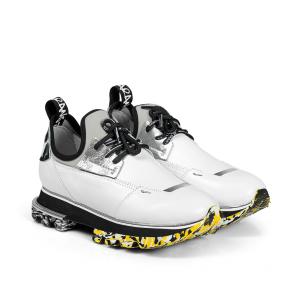 Дамски спортни обувки от естествена кожа и стреч ILV-2052-2 - 2