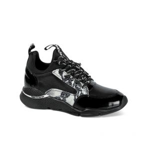 Дамски обувки от стествена кожа и лак ILV-2197