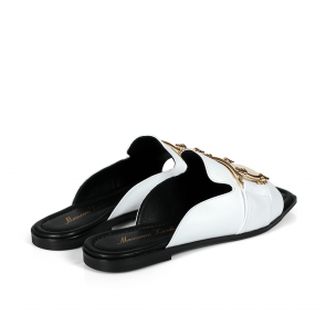 Дамски чехли от естествена кожа ILV-233 - 2