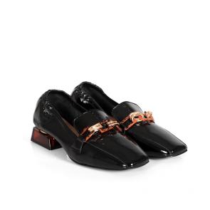 Дамски обувки от естествен лак ILV-2360-20 - 2