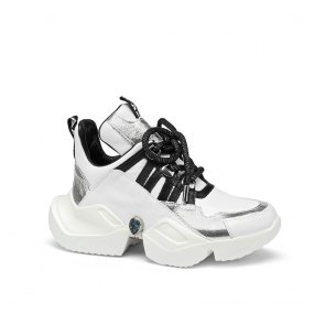 Дамски спортни обувки от естествена кожа ILV-2500/1