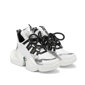 Дамски спортни обувки от естествена кожа ILV-2500/1 - 2
