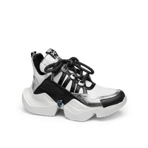 Дамски спортни обувки от естествена кожа ILV-2500