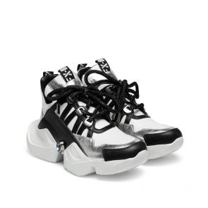 Дамски спортни обувки от естествена кожа ILV-2500 - 2