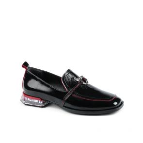 Дамски обувки от естествен начупен лак  ILV-253