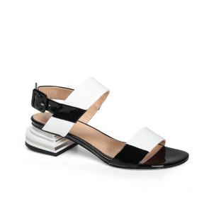 Дамски сандали от естествен лак ILV-2533-20/1