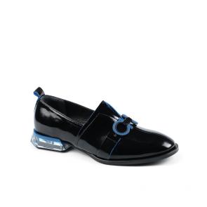 Дамски обувки от естествен начупен лак ILV-254