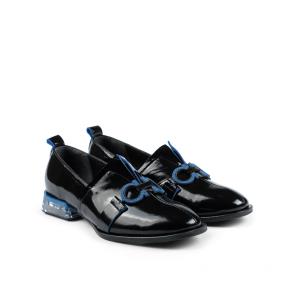 Дамски обувки от естествен начупен лак ILV-254 - 2