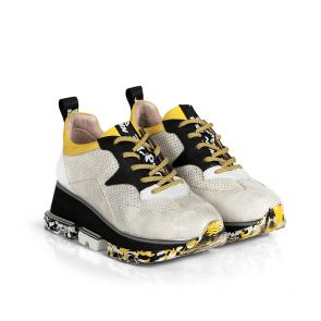 Дамски спортни обувки от естествена кожа ILV-2855 - 2