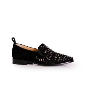 Дамски обувки от естествен велу