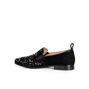 Дамски обувки от естествен велу - 2