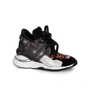 Дамски спортни обувки от естествена кожа ILV-3058