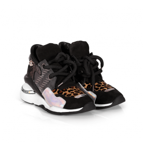 Дамски спортни обувки от естествена кожа ILV-3058 - 2