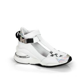 Дамски спортни обувки от естествена кожа ILV-3112