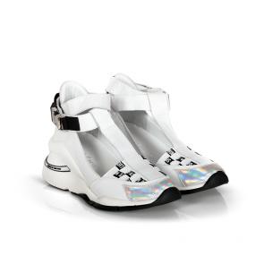 Дамски спортни обувки от естествена кожа ILV-3112 - 2