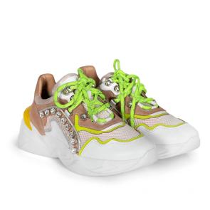 Дамски спортни обувки от естествена кожа ILV-3128 - 2