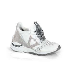 Дамски спортни обувки от естествена кожа ILV-3134