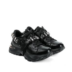 Дамски спортни обувки от начупен лак ILV-3159 - 2