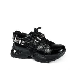 Дамски спортни обувки от начупен лак ILV-3159