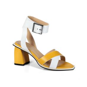 Дамски обувки от естествена кожа ILV-4082