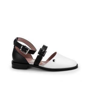 Дамски сандали от естествена кожа ILV-444