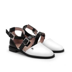 Дамски сандали от естествена кожа ILV-444 - 2