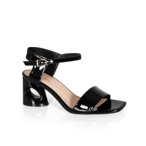 Дамски обувки от естествен лак ILV-4509