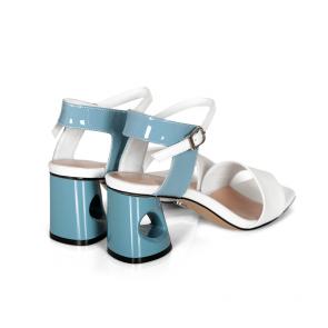 Дамски обувки от естествен лак ILV-4509 - 2