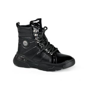 Дамски спортни обувки от естествена кожа ILV-4524