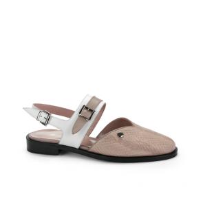 Дамски сандали от естествена кожа ILV-470