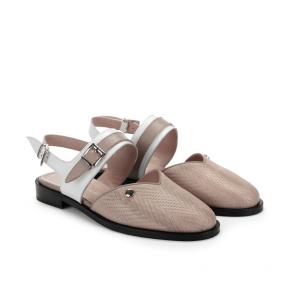 Дамски сандали от естествена кожа ILV-470 - 2