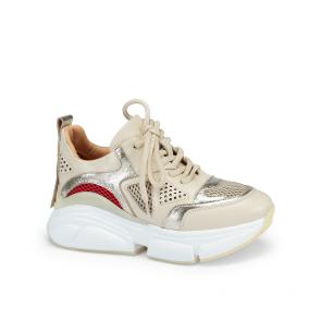 Дамски спортни обувки от естествена кожа ILV-4761