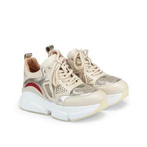 Дамски спортни обувки от естествена кожа ILV-4761 - 2